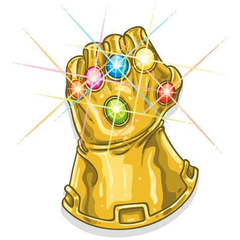 Download Free Infinity Youtube Glove T Shirt Thanos The ...