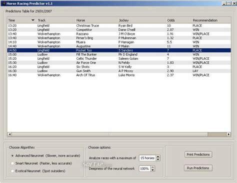 Download Horse Racing Predictor 1.5.2