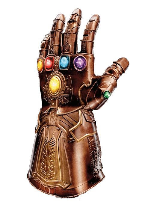 Download Infinity Hand Finger Thanos Gauntlet Thor HQ PNG ...