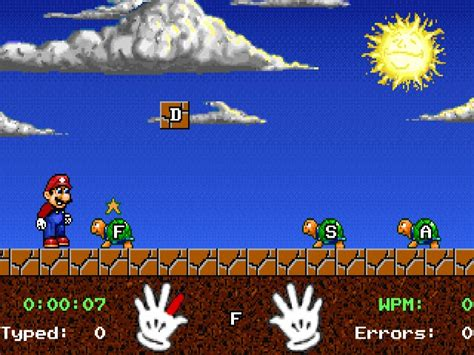 Download Mario Teaches Typing | DOS Games Archive