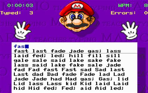 Download Mario Teaches Typing   My Abandonware