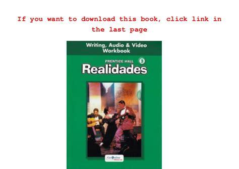 Download Pearson   Prentice Hall Realidades Program Page ...