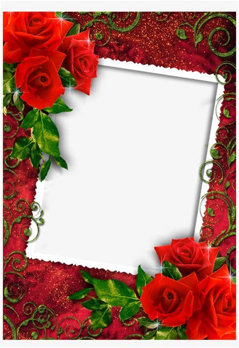 Download Png Images   Love Rose Photo Frame Transparent ...