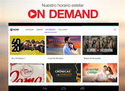 Download Univision NOW: TV en vivo Google Play softwares ...