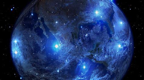Download wallpaper 1920x1080 planet, earth, stars ...