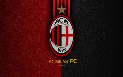 Download wallpapers AC Milan, 4k, Italian football club ...