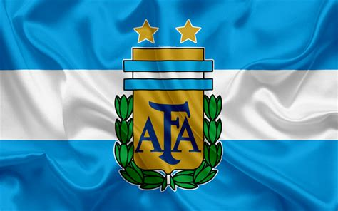 Download wallpapers Argentina national football team, logo ...