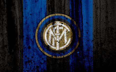 Download wallpapers FC Inter Milan, 4k, logo ...