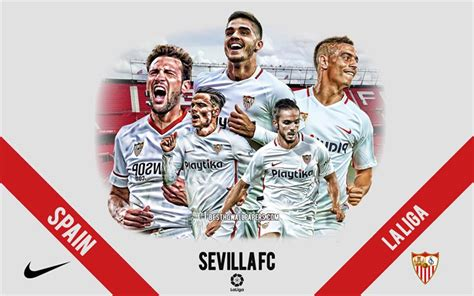 Download wallpapers Sevilla FC, Spanish football club ...