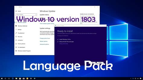 Download Windows 10 version 1803 Language Pack 2018 ...