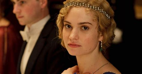 Downton Abbey Christmas spoilers: Lily James confirms she ...