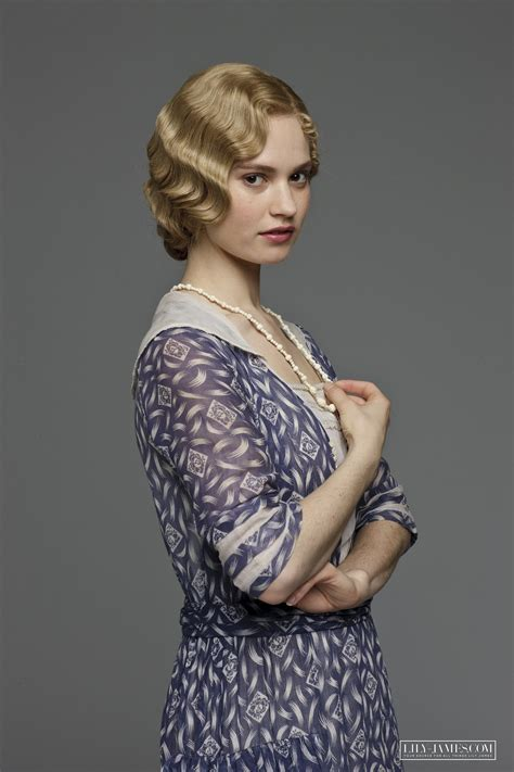 Downton Abbey Lady Rose aka Lily James   All things ...