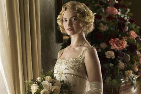 Downton Abbey: Lily James set for show axe as Lady Rose ...