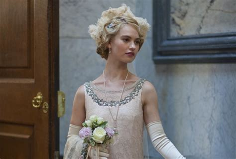 Downton Abbey s Lily James confirmed for BBC One s War and ...