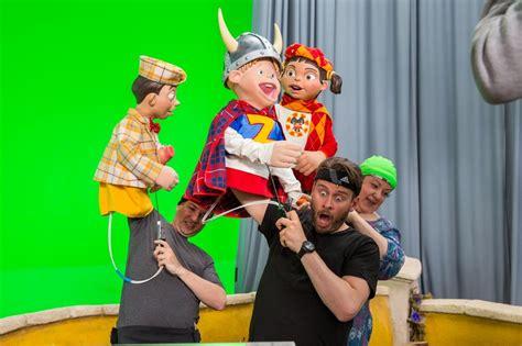DPA recoge el audio de actores y  marionetas  en  LazyTown