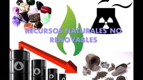 Dra. Adela Mendoza Recursos Naturales No Renovables    YouTube