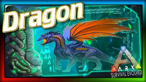 Dragon Boss!  ARK: Survival Evolved Dossier  #32: ARK ...