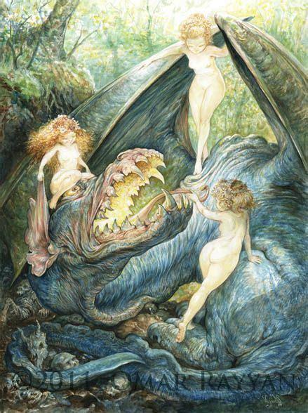 Dragon Nymphs. Omar Rayyan | Fairies and other mystical ...