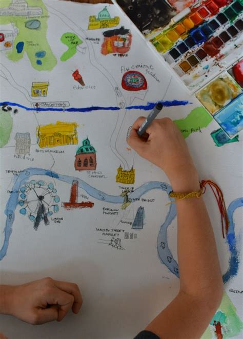 Draw a map of your city | CITIES | Map crafts, Map ...