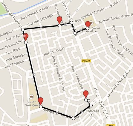 Draw Custom Route using Android Google maps v2   Stack ...