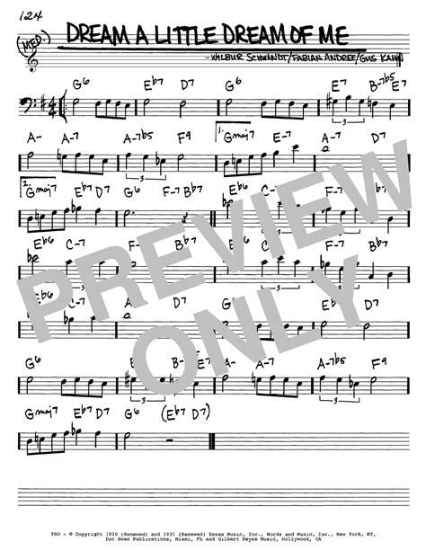 Dream A Little Dream Of Me | Sheet Music Direct