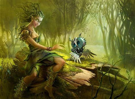 Dríada   Seres Mitológicos y Fantásticos | Dríadas y Ents ...