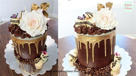 Drip cake de chocolate| My Birthday cake| Natalia Salazar ...
