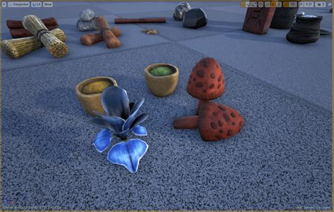 Dropped Item Meshes Preview   Survive ARK