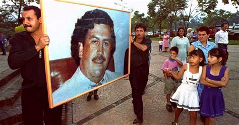 Drug Baron Pablo Escobar s Son Has Emerged As An Unlikely ...