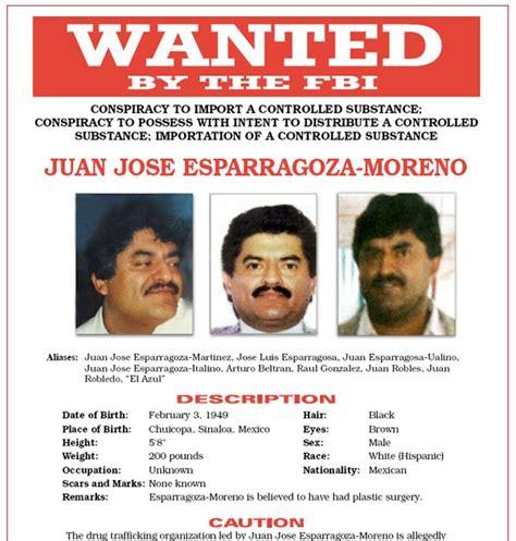 DRUG SEIZURES AND ARRESTS: Juan Jose Esparragoza Moreno ...