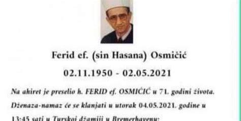 DŽEMATLIJE U CAZINU PO DOBROM ĆE PAMTITI EFENDIJU FERIDA ...