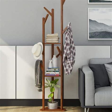 DSWDA Perchero Piso Esquina Ropa Simple Dormitorio Estante ...