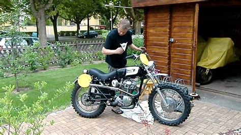 Ducati 250 Scrambler 1965 gets alive   YouTube