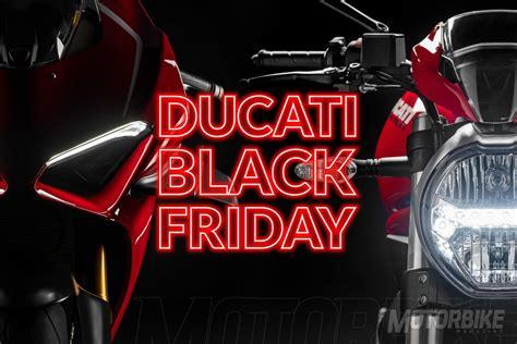 Ducati Black Friday 2019: Descuentos de 1300€ en toda la ...