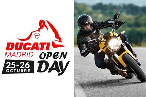 Ducati Madrid Open Days: ¡Descuentos en motos de ocasión ...