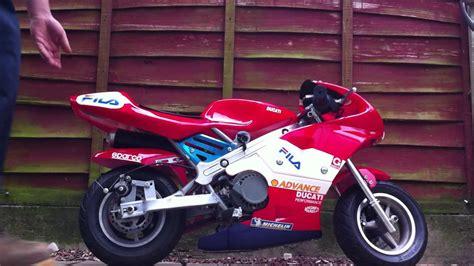Ducati Mini Moto 50cc   YouTube