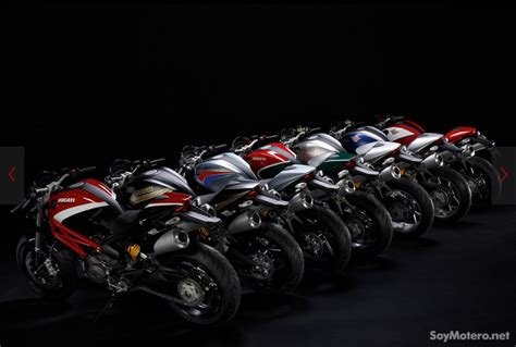 Ducati Monster 796 Art   gama de colores y logos