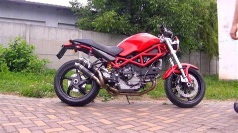 Ducati Monster S2R Fresco exhaust sound   YouTube