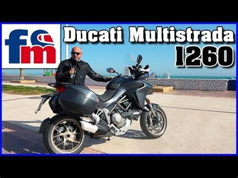 Ducati Multistrada 1260 2018: Primera prueba   YouTube