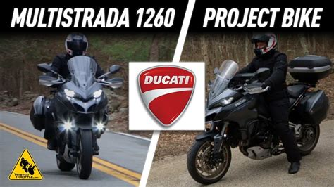 Ducati Multistrada 1260 Project Bike | TwistedThrottle.com ...