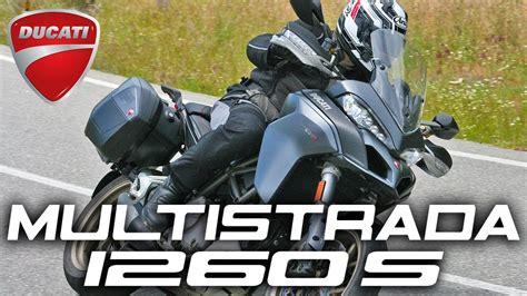 Ducati Multistrada 1260 S 2018: Prueba a fondo   YouTube
