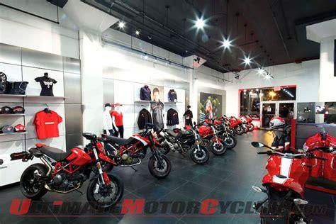 Ducati Revamps American Retail Identity