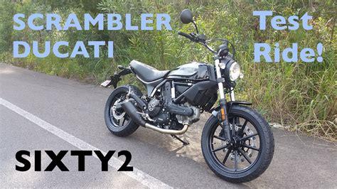 Ducati Scrambler Sixty2 Test Ride   The new 400cc ...