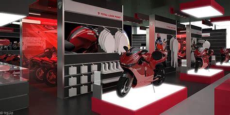 ducati showroom concept   Attilio Guerreschi