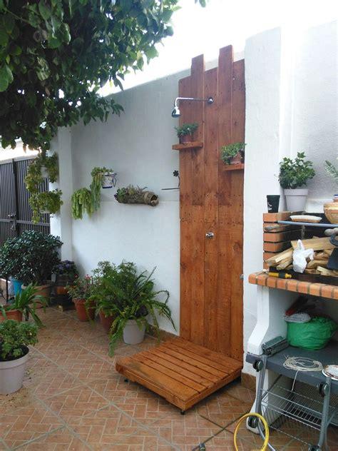 Ducha para patio o jardin. | Reforma