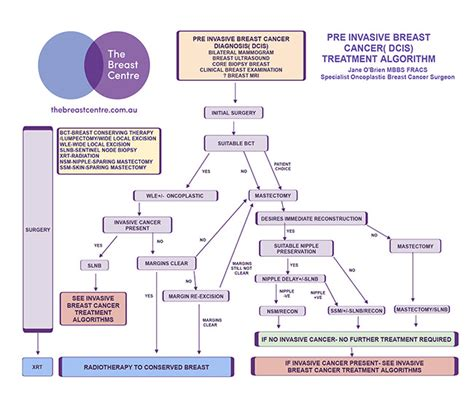 Ductal Carcinoma in Situ  DCIS  Treatment Algorithm