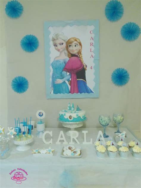 Dulces felicidades: Cumpleaños Frozen