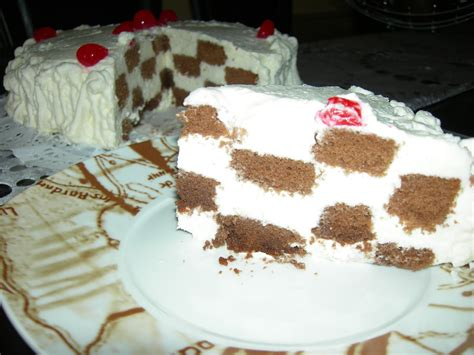 Dulces tartas caseras: TARTA DAMERO   CHOCOLATE Y NATA