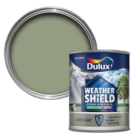 Dulux Weathershield Exterior Glade Green Satin Wood ...