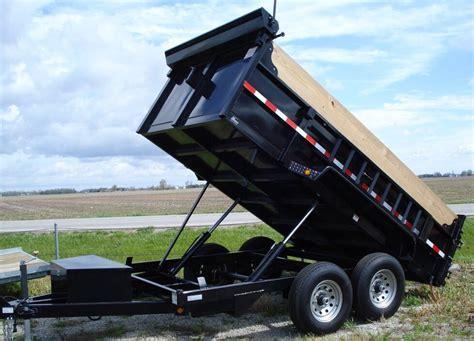 Dump Trailer Rentals Service Available 24/7